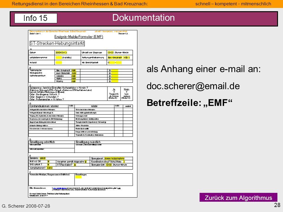 "als Anhang einer e-mail an: doc.scherer@email.de Betreffzeile: ""EMF"