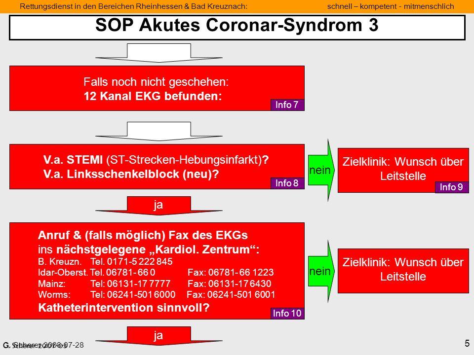 SOP Akutes Coronar-Syndrom 3