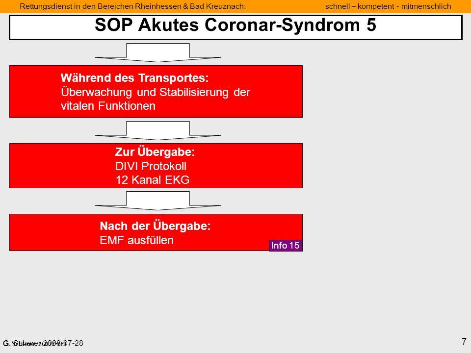 SOP Akutes Coronar-Syndrom 5