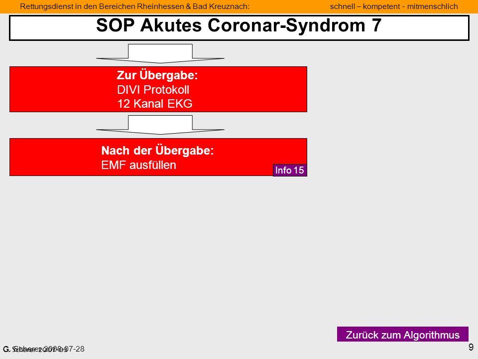 SOP Akutes Coronar-Syndrom 7