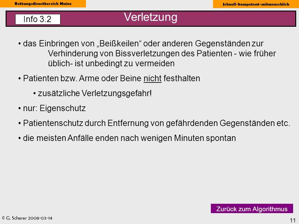 Verletzung Info 3.2.
