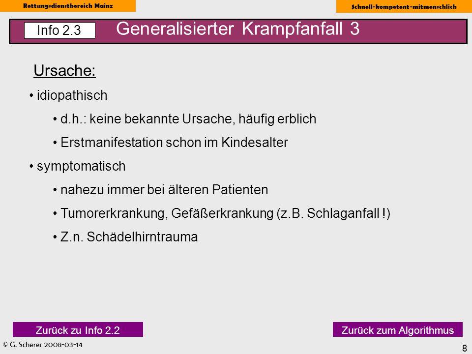 Generalisierter Krampfanfall 3