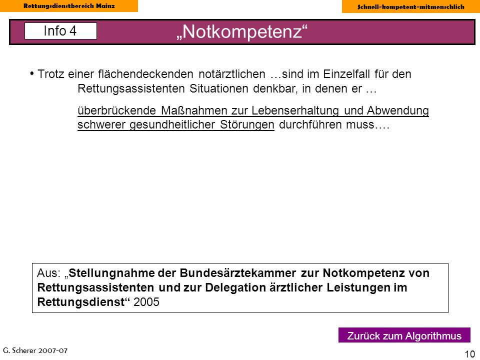 """""""Notkompetenz Info 4."""