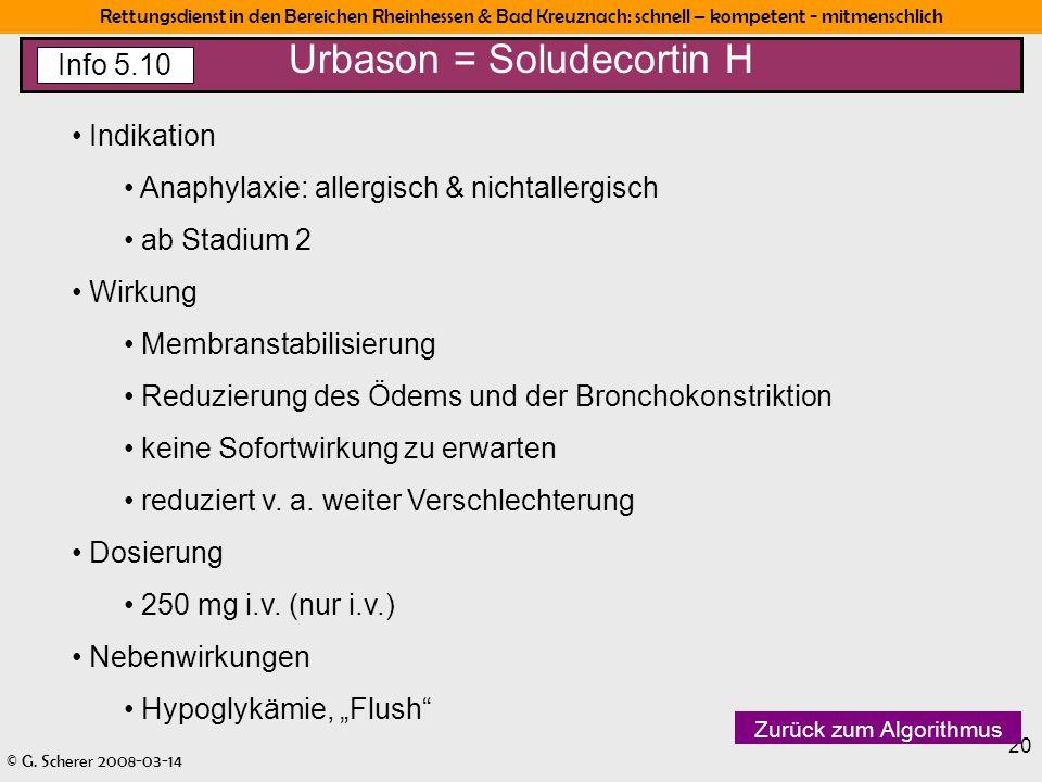 Urbason = Soludecortin H