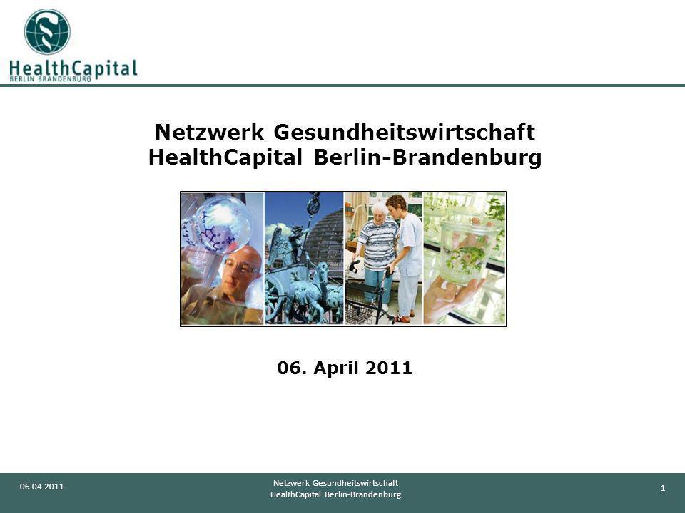 Netzwerk Gesundheitswirtschaft HealthCapital Berlin-Brandenburg