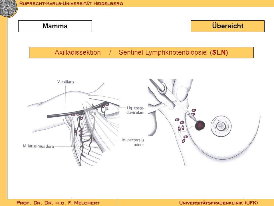 Axilladissektion / Sentinel Lymphknotenbiopsie (SLN)