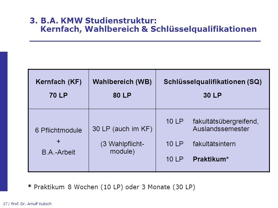 Schlüsselqualifikationen (SQ)