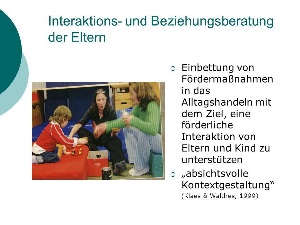 Interaktions- und Beziehungsberatung der Eltern