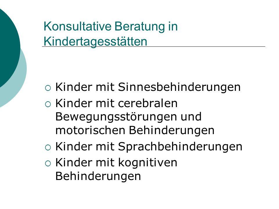 Konsultative Beratung in Kindertagesstätten