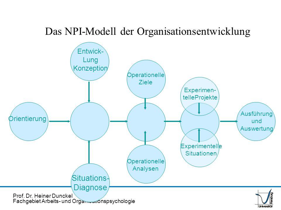 Das NPI-Modell der Organisationsentwicklung