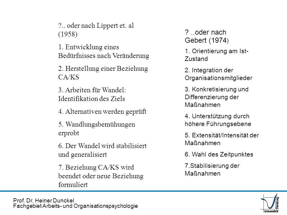 .. oder nach Lippert et. al (1958)