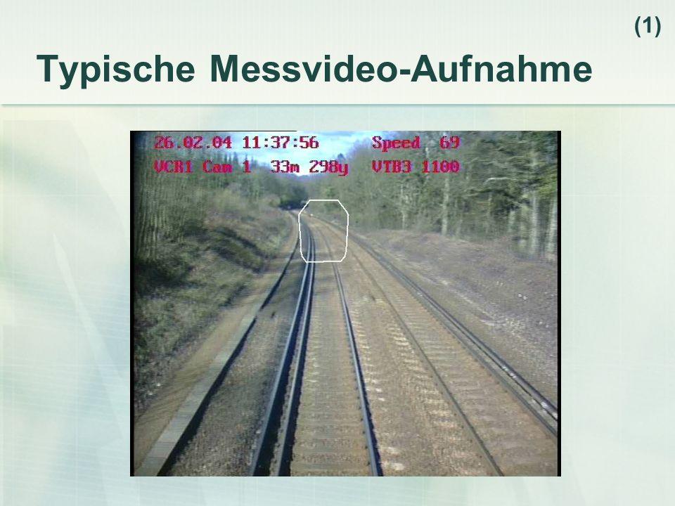 Typische Messvideo-Aufnahme