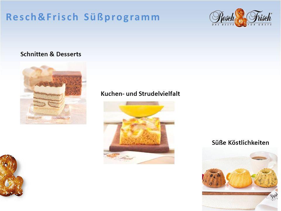 Resch&Frisch Süßprogramm
