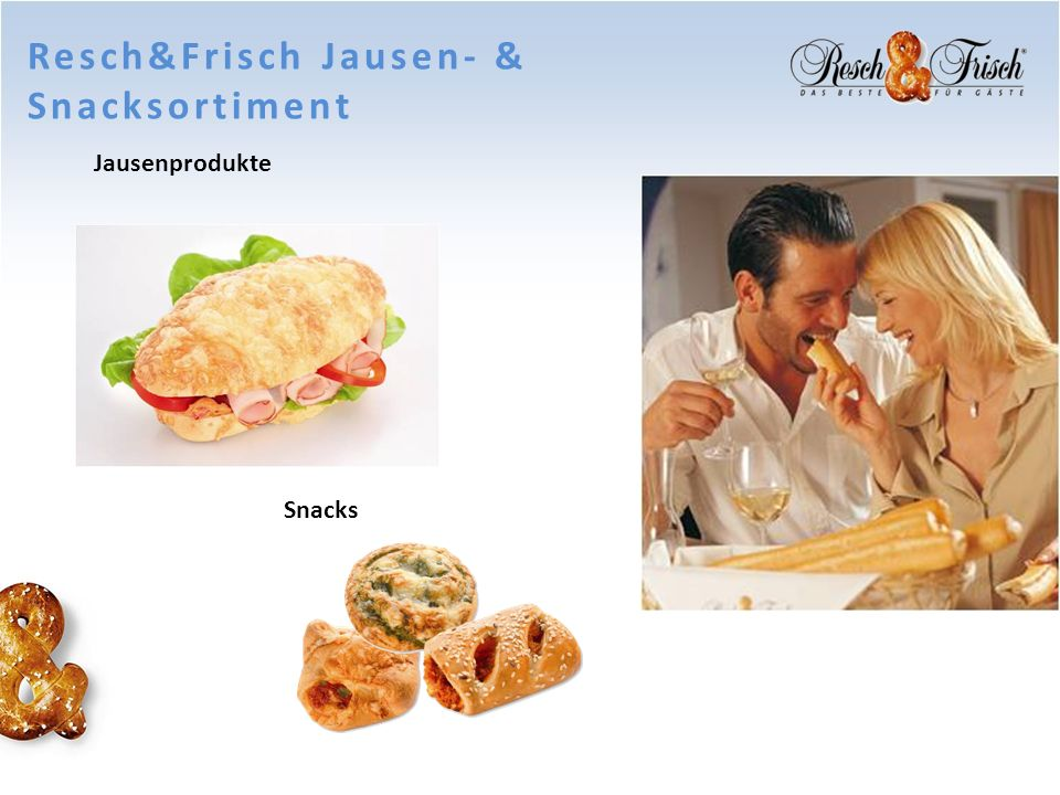Resch&Frisch Jausen- & Snacksortiment