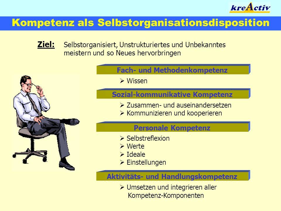 Kompetenz als Selbstorganisationsdisposition