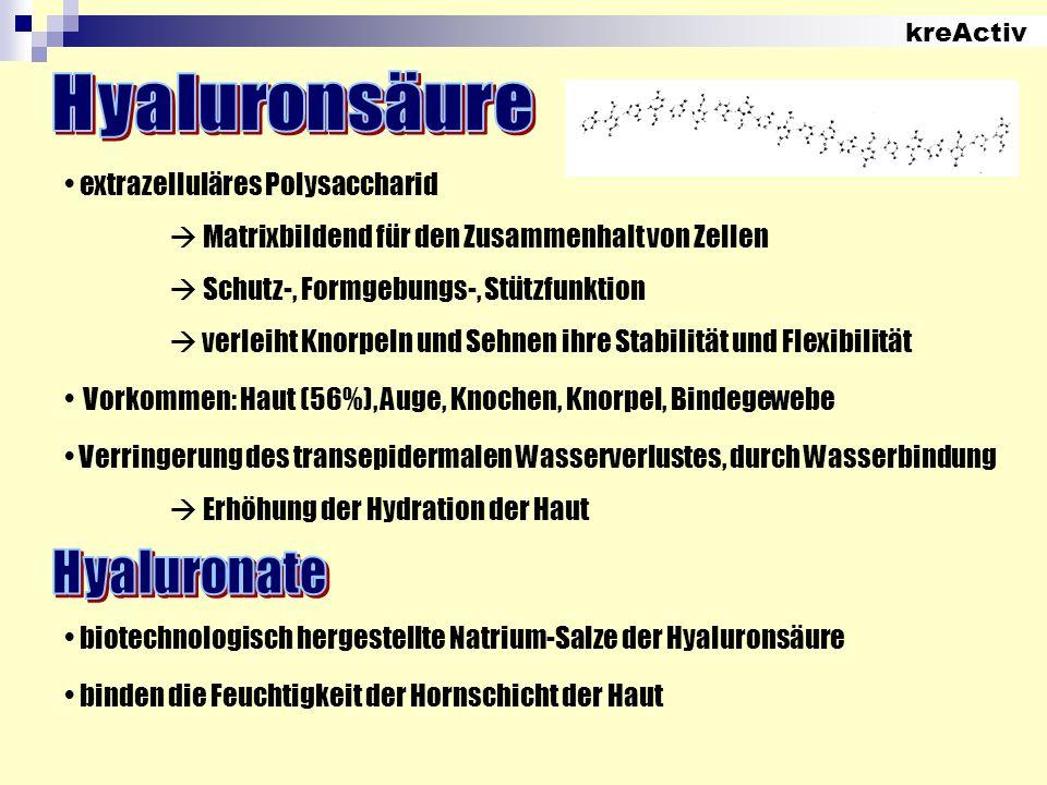 Hyaluronsäure Hyaluronate