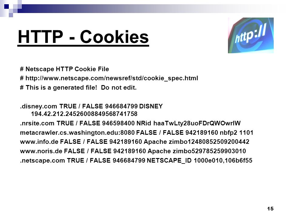 HTTP - Cookies # Netscape HTTP Cookie File