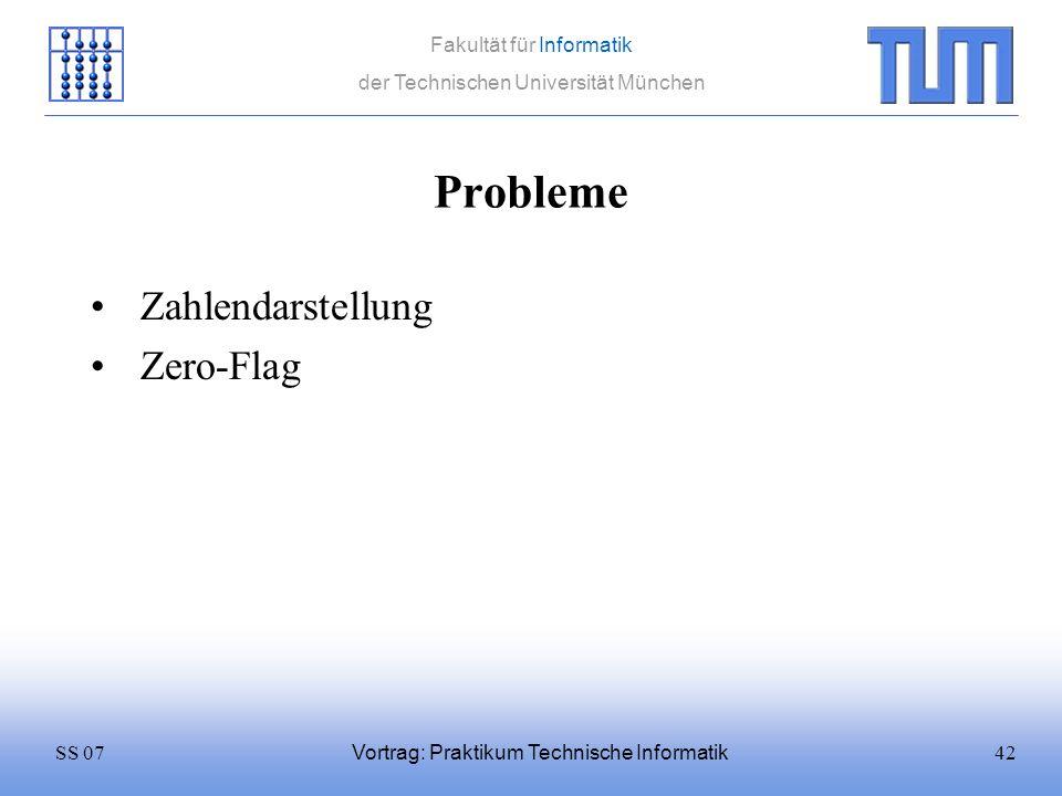 Probleme Zahlendarstellung Zero-Flag