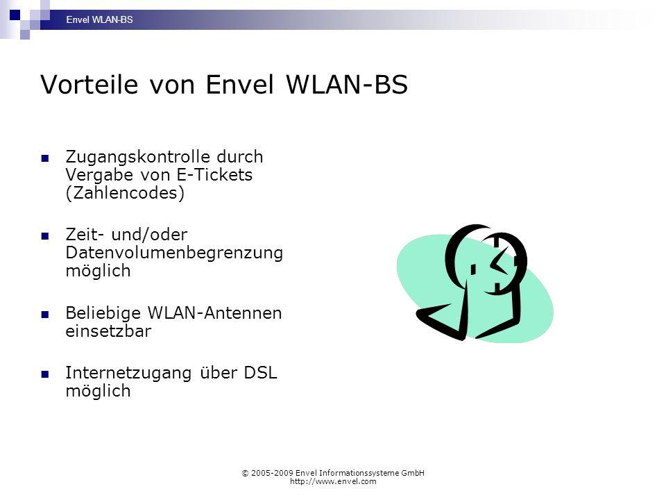 Vorteile von Envel WLAN-BS