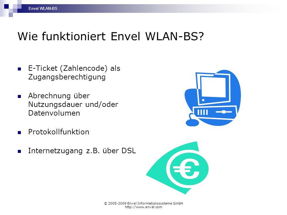 Wie funktioniert Envel WLAN-BS