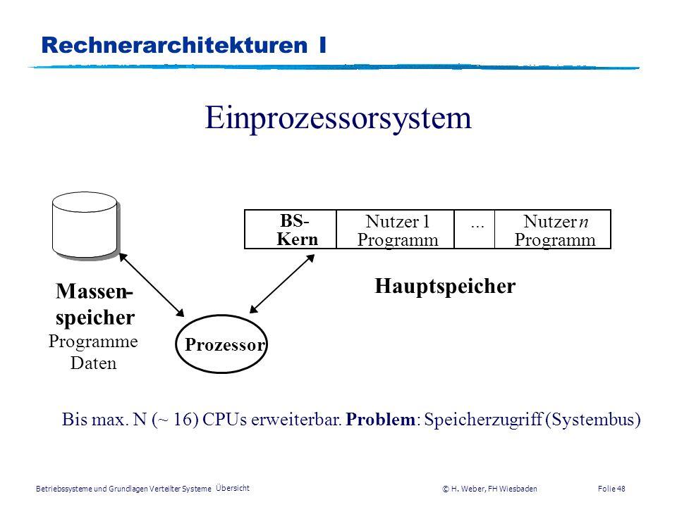 Rechnerarchitekturen I