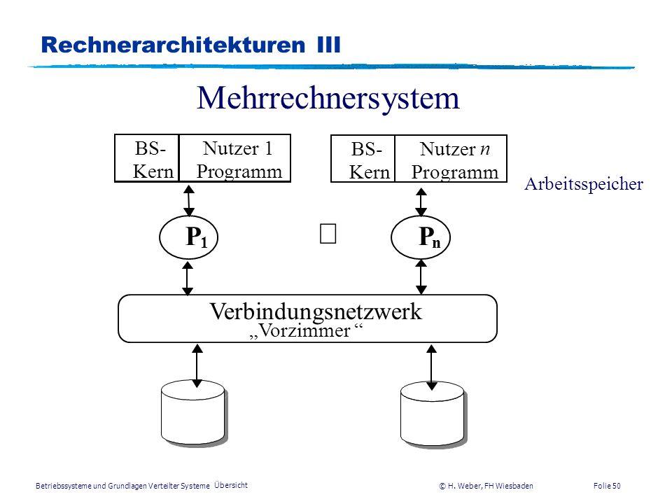 Rechnerarchitekturen III