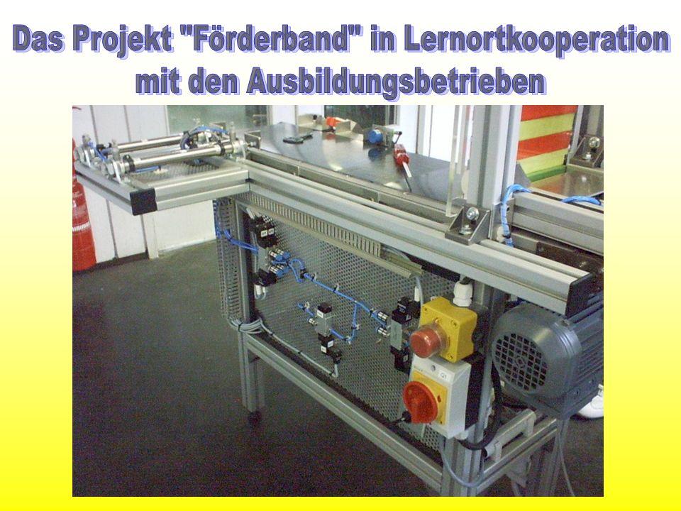 Das Projekt Förderband in Lernortkooperation