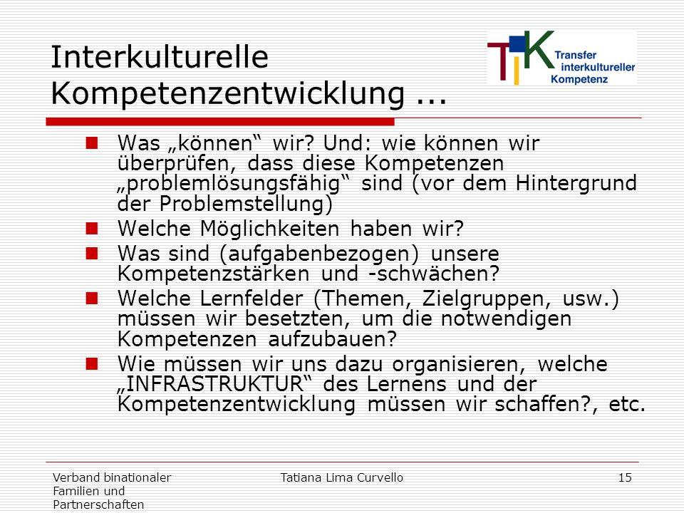 Interkulturelle Kompetenzentwicklung ...