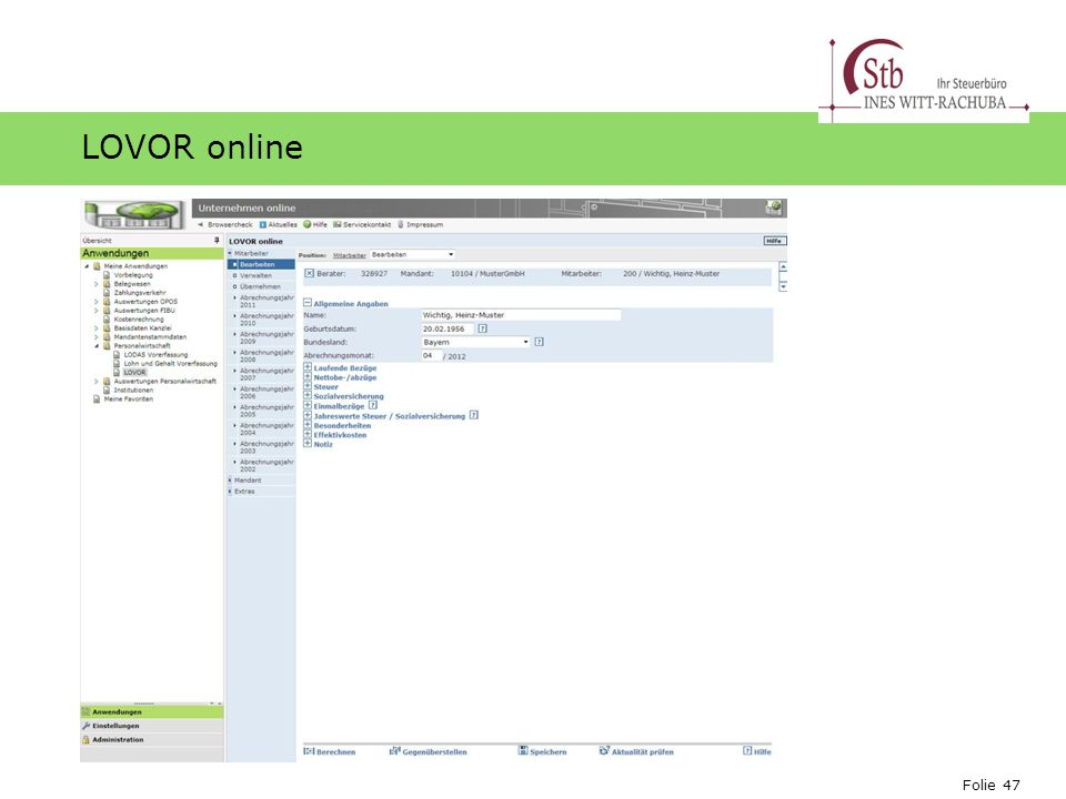 LOVOR online