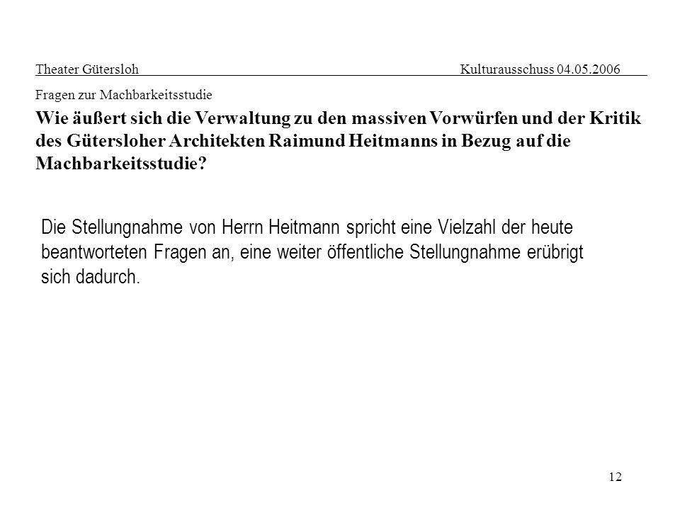 Die Stellungnahme von Herrn Heitmann spricht eine Vielzahl der heute