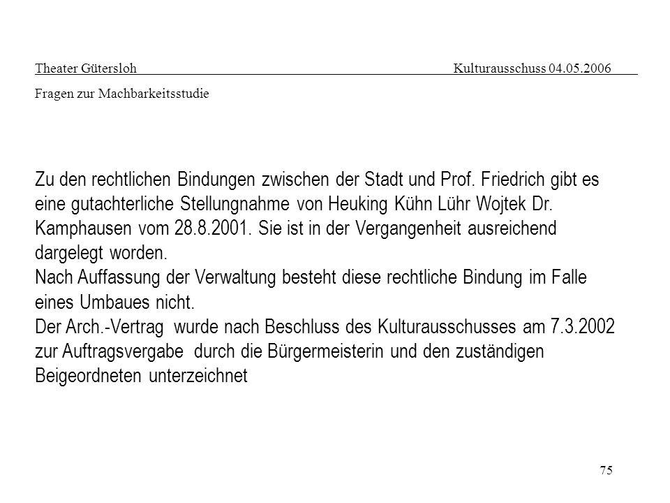 eine gutachterliche Stellungnahme von Heuking Kühn Lühr Wojtek Dr.