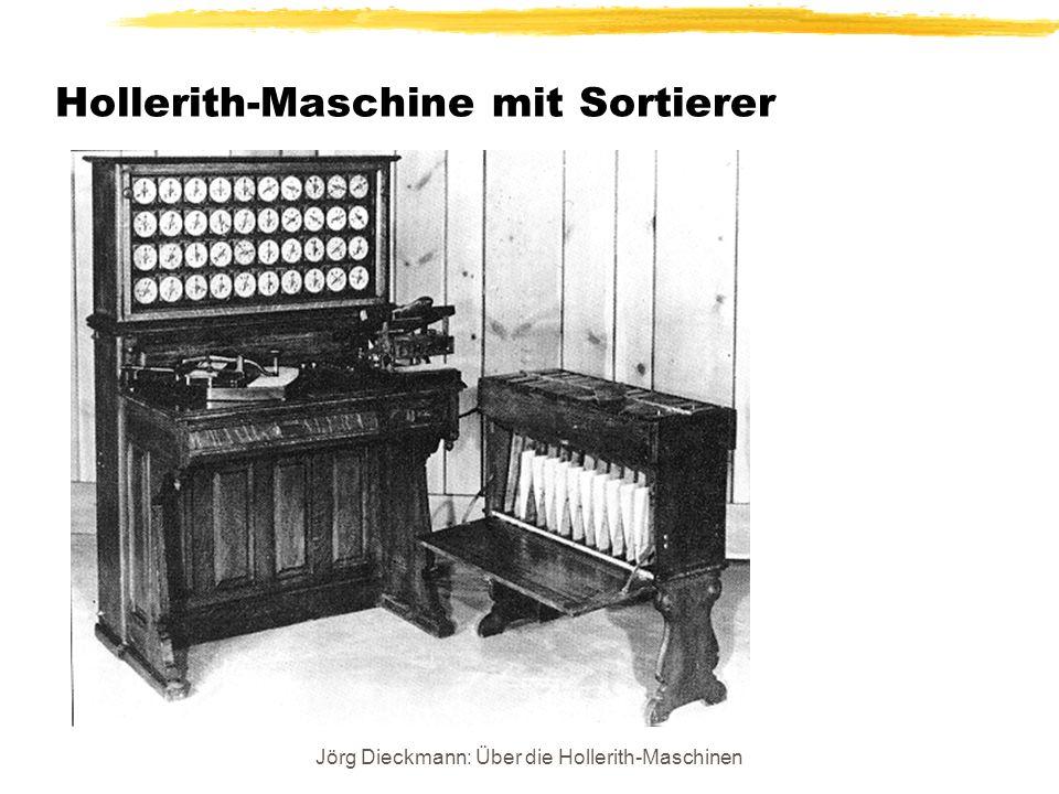 Hollerith-Maschine mit Sortierer