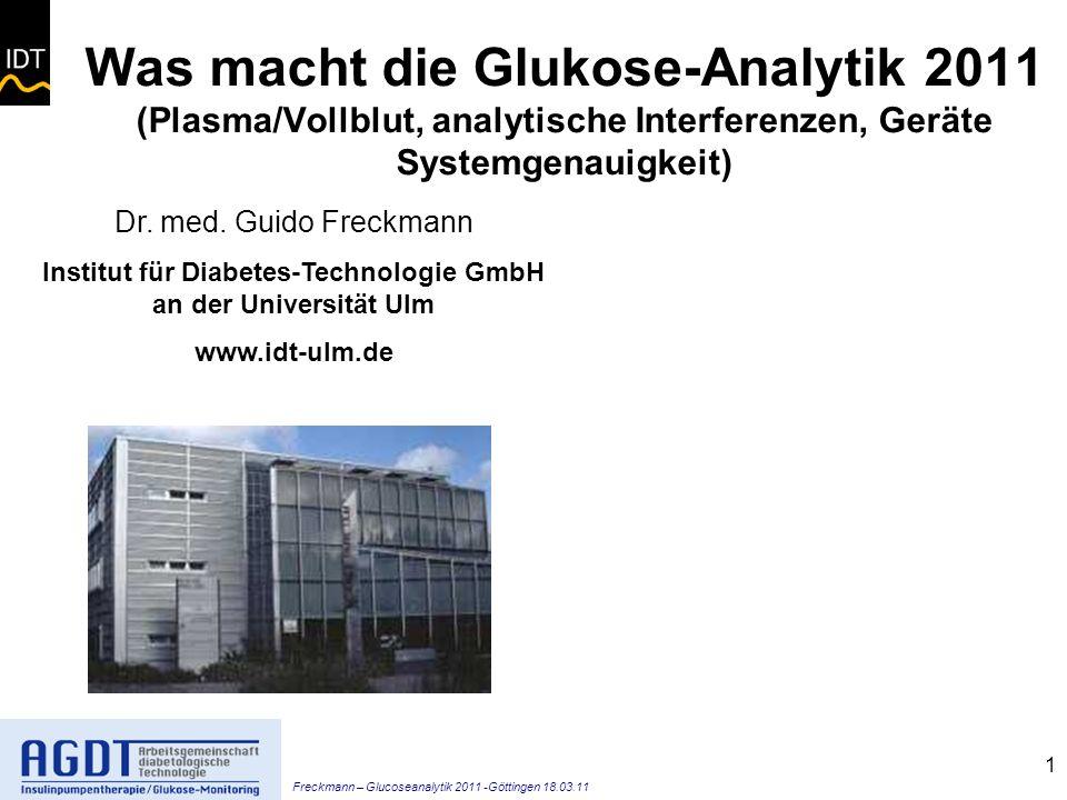 Institut für Diabetes-Technologie GmbH an der Universität Ulm