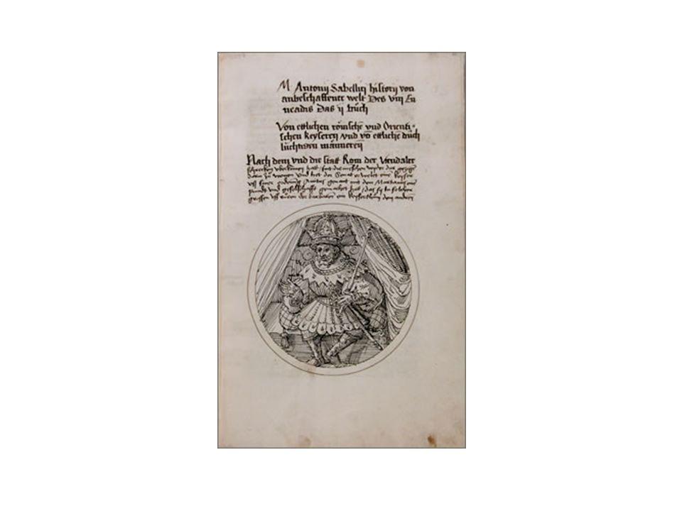 Thomas Murner: M.A. Sabellici Hystory von anbeschaffener welt, 1534/35