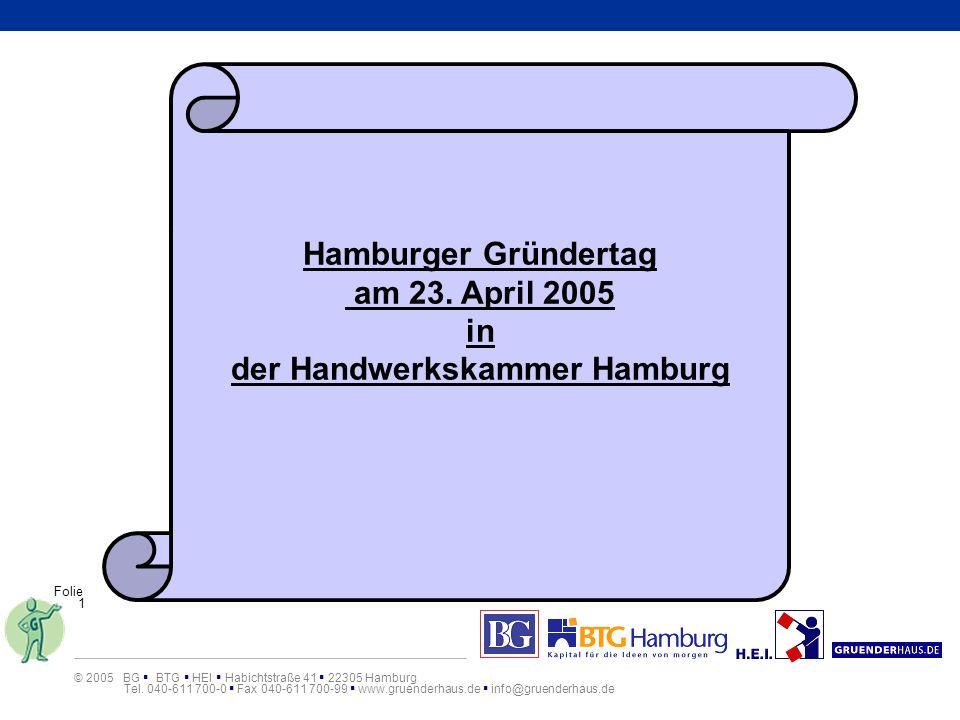 der Handwerkskammer Hamburg