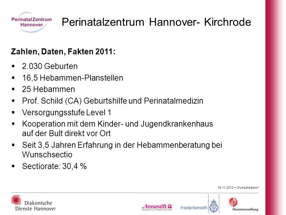 Perinatalzentrum Hannover- Kirchrode