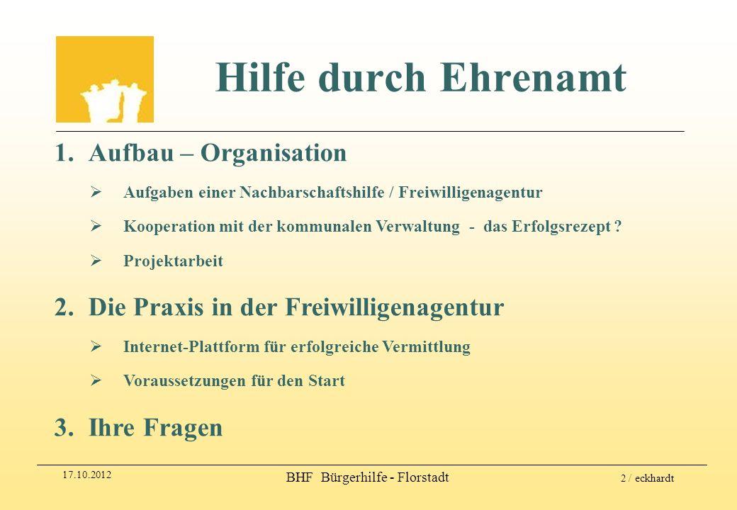 BHF Bürgerhilfe - Florstadt