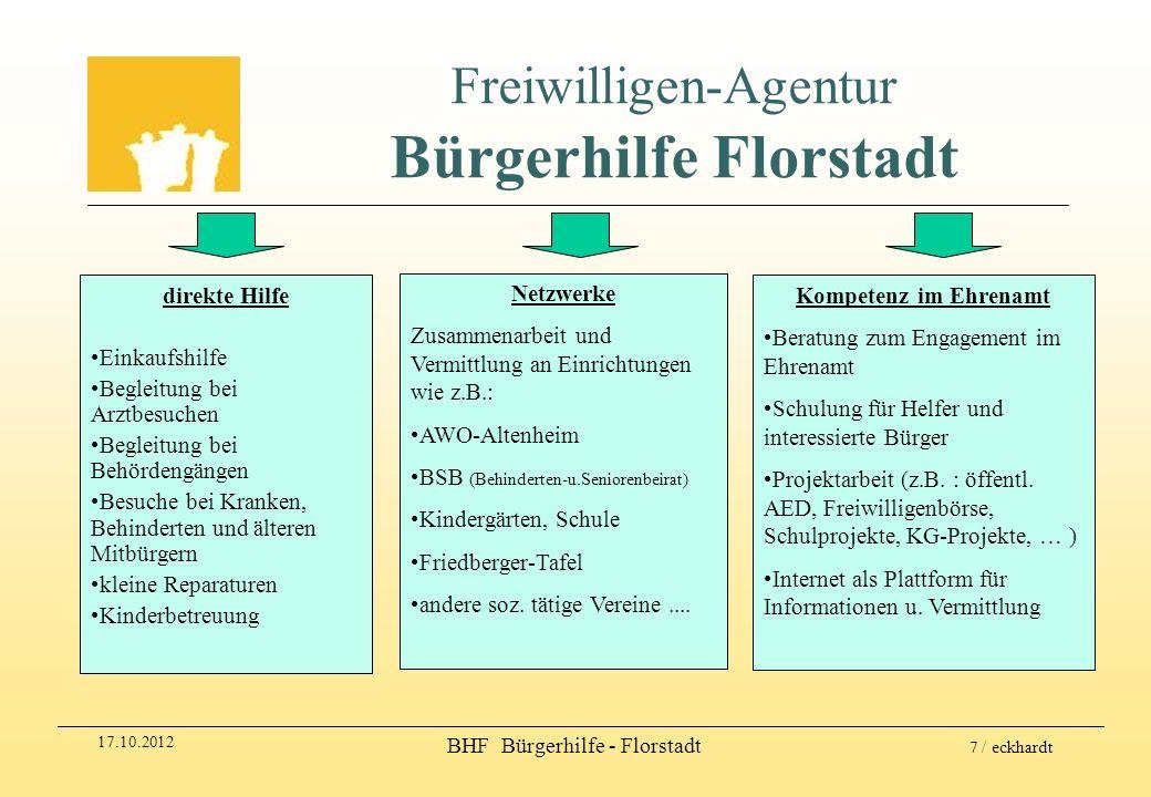 Freiwilligen-Agentur Bürgerhilfe Florstadt