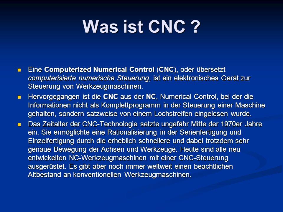 Was ist CNC
