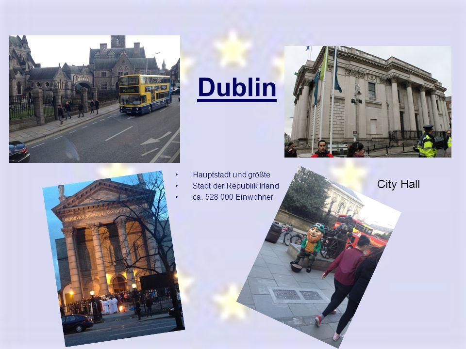 Dublin City Hall Hauptstadt und größte Stadt der Republik Irland