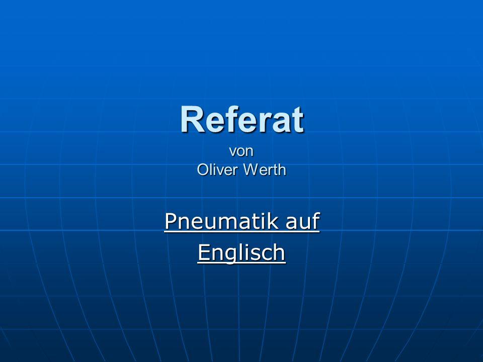 Referat von Oliver Werth