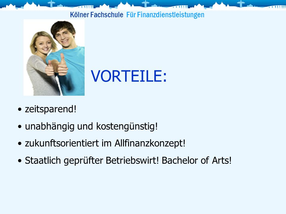 Kölner Fachschule Für Finanzdienstleistungen