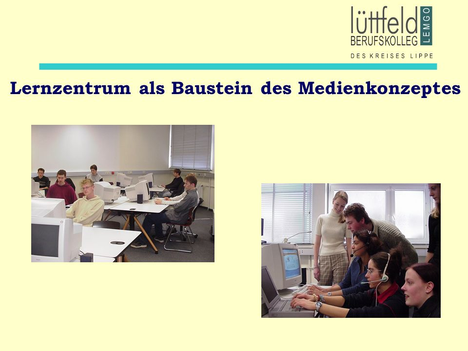 Lernzentrum als Baustein des Medienkonzeptes