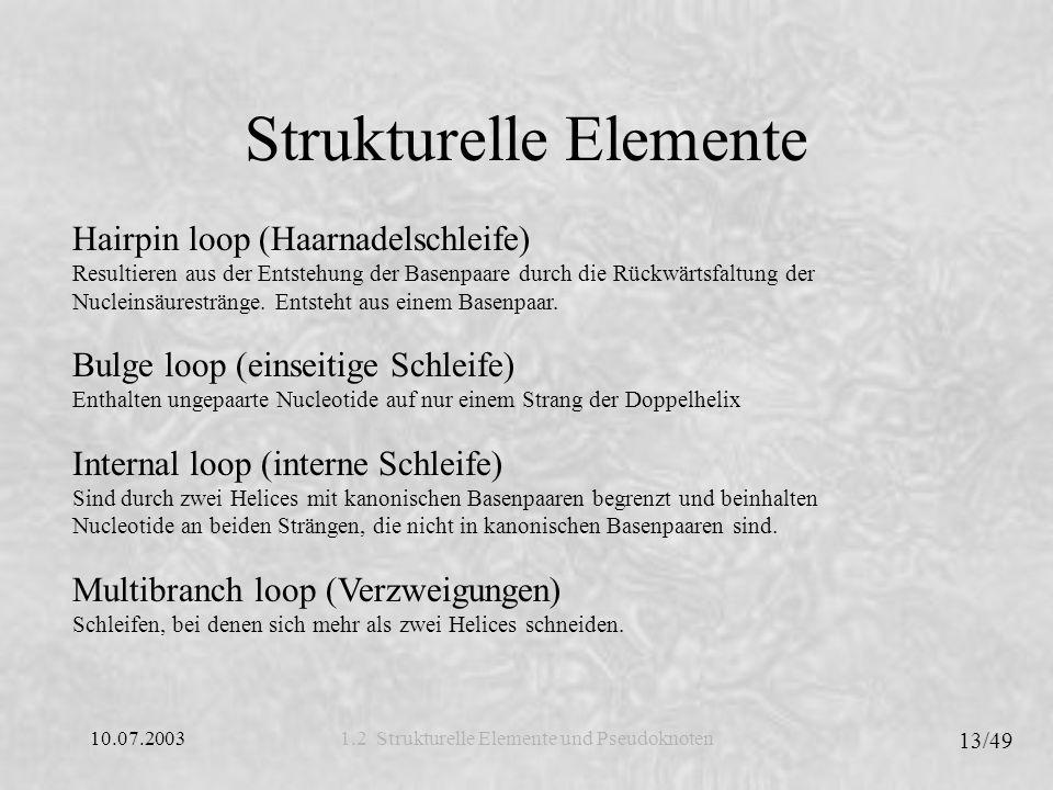 Strukturelle Elemente