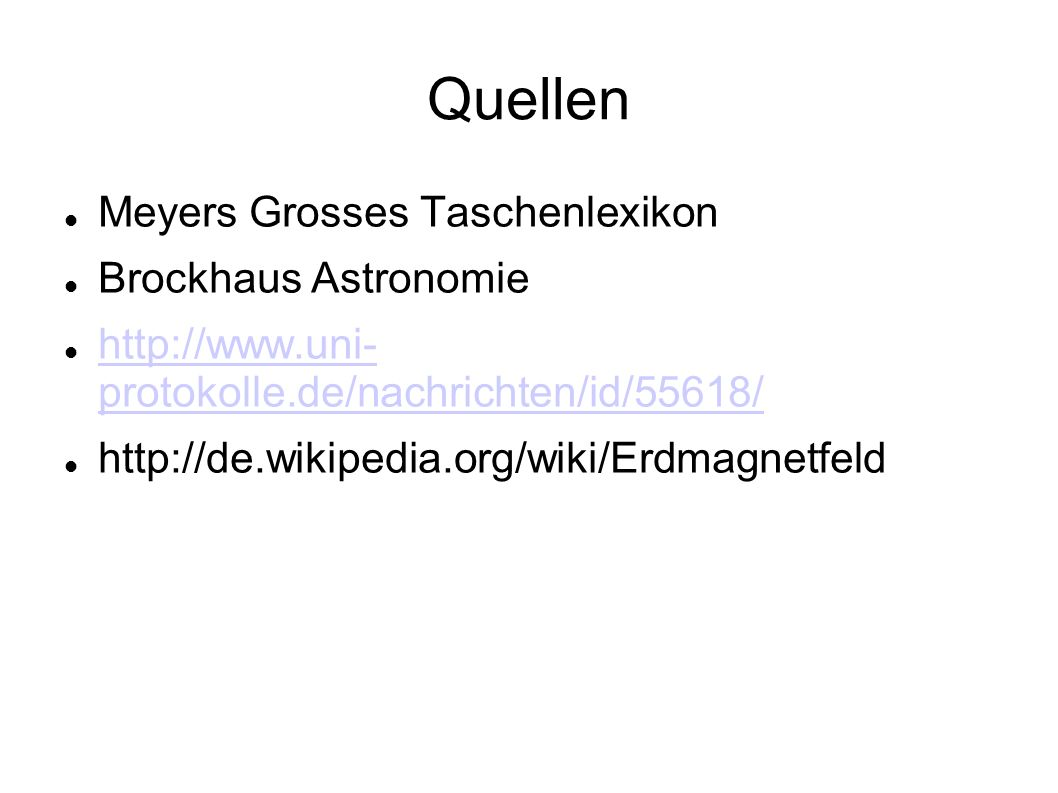 Quellen Meyers Grosses Taschenlexikon Brockhaus Astronomie