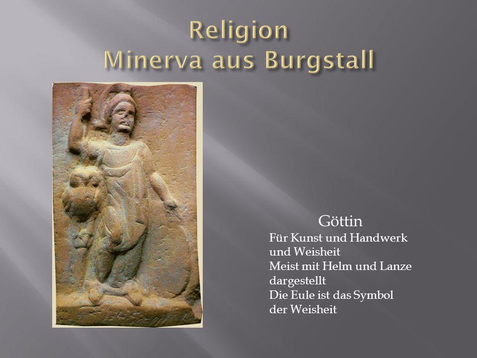 Religion Minerva aus Burgstall