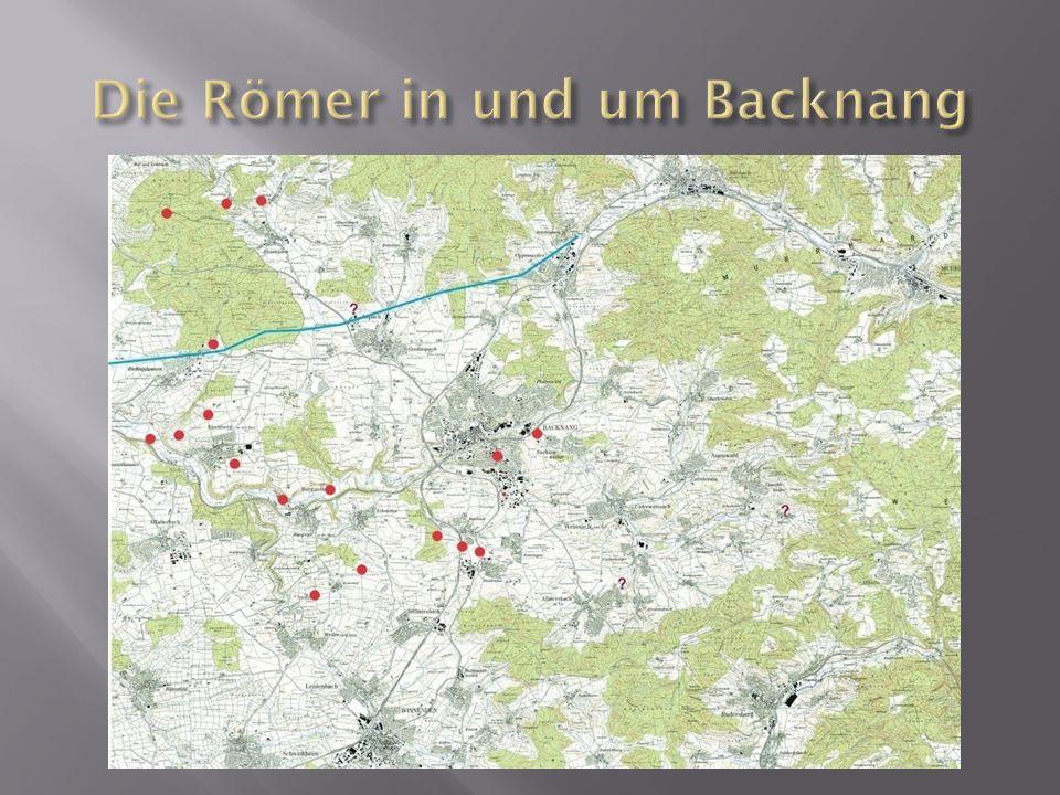 Die Römer in und um Backnang