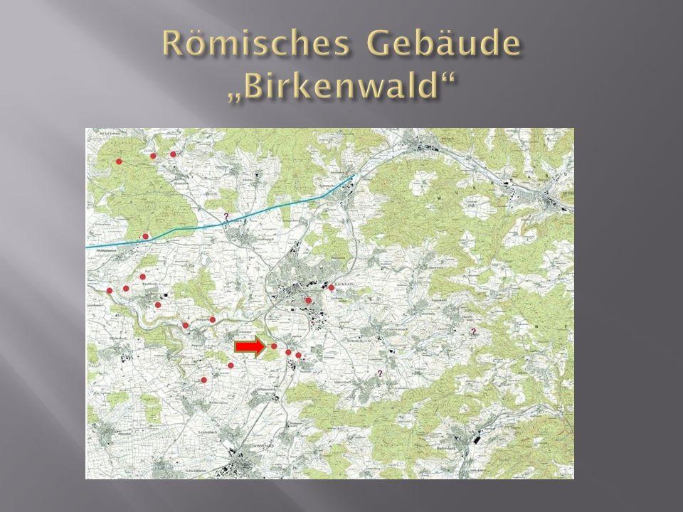 """Römisches Gebäude """"Birkenwald"""