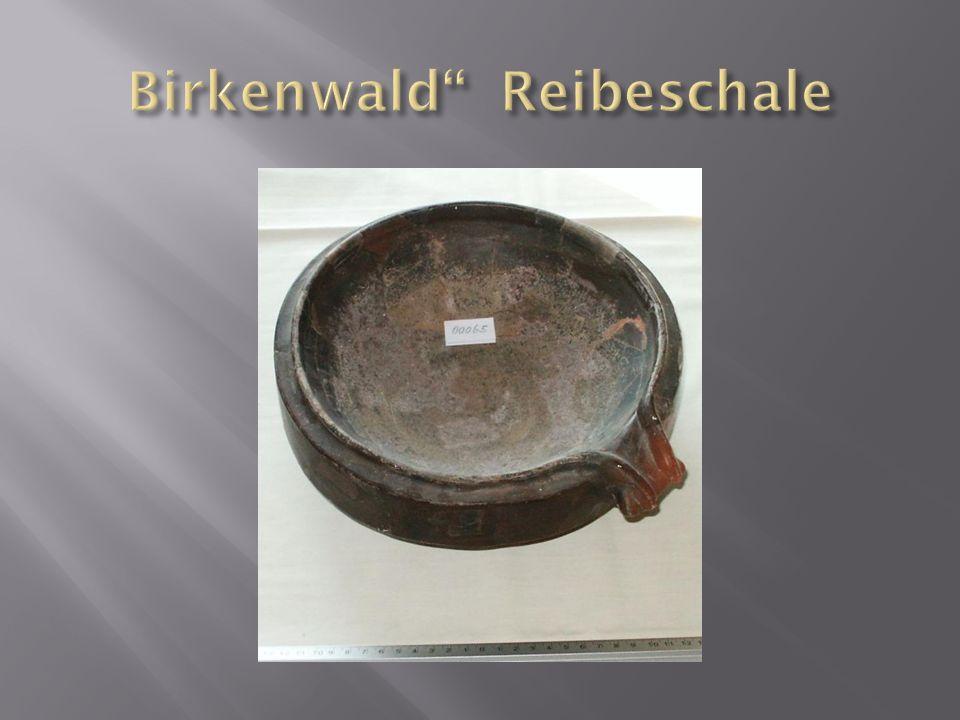 Birkenwald Reibeschale