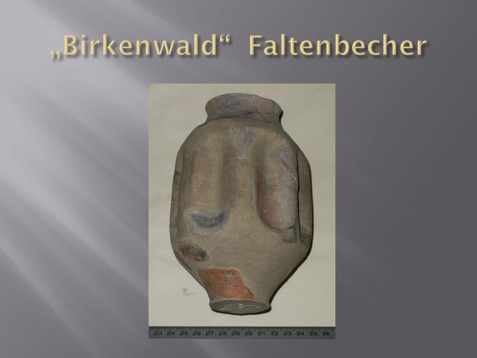 """""""Birkenwald Faltenbecher"""